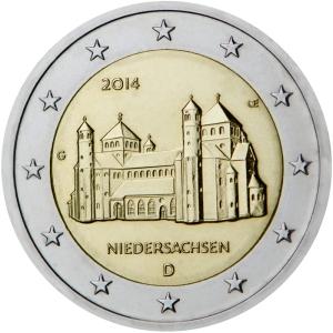 2-euro-2015-niedersachsen-D