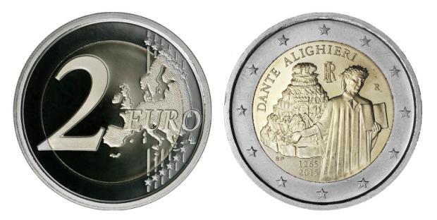 2-euro-commemorativi-dante-2015