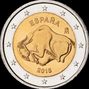 2-euro-2015-UNESCO-Grotte di Altamira-ESPAÑA-spain