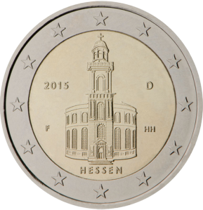 2 euro commemorativi hessen (Assia) Germany 2015