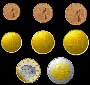 euro coin Andorra dal 2015