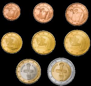 euro coin Cipro dal 2011