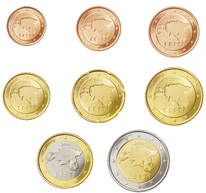 euro coin estonia dal 2011