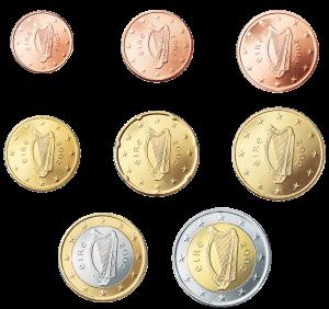 euro coin irlanda