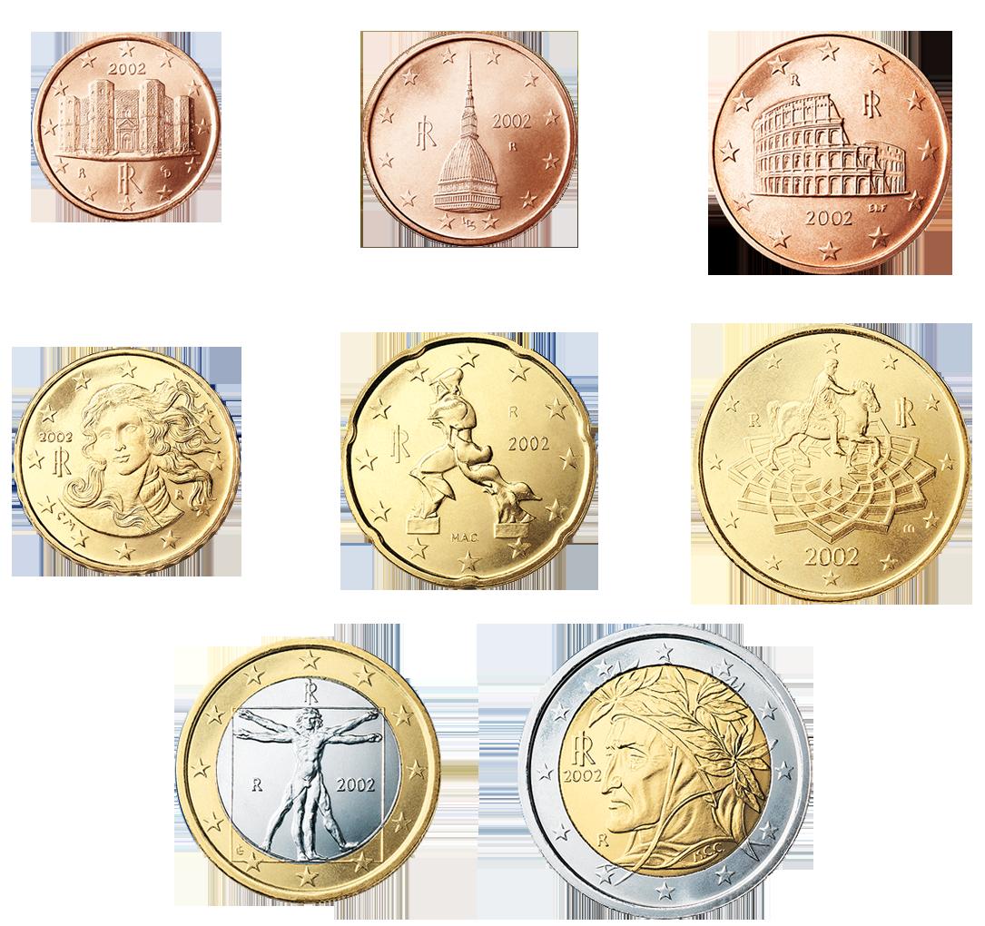 9517122c5c Euro coins _ Italia | Numismatica spicciola
