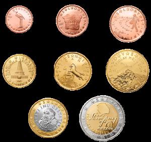 euro coin slovenia