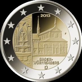 2 euro commemorativi germania Baden-Württemberg 2013