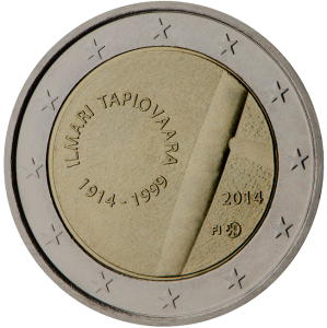 2 euro commemorativi 2014 Finland Ilmari Tapiovaara