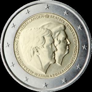 2-euro-commemorativi-2014-paesi-bassi_re-guglielmo-alessandro