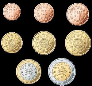 euro coin Portugal