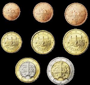 euro coin Slovacchia 2009