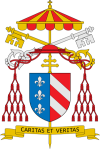 Coat of arms of Eduardo Martinez Somalo (Camerlengo)