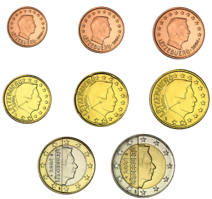 euro coin Lussemburgo