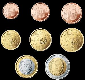 euro coin Spagna